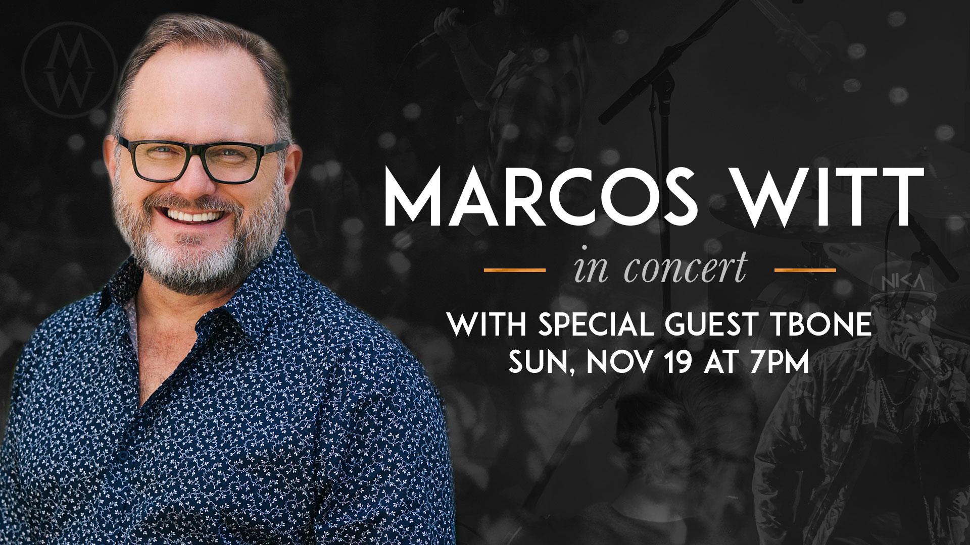 Marcos Witt Concert