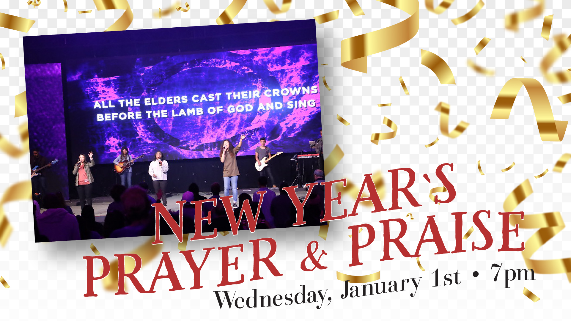New Year's Prayer & Praise 2019