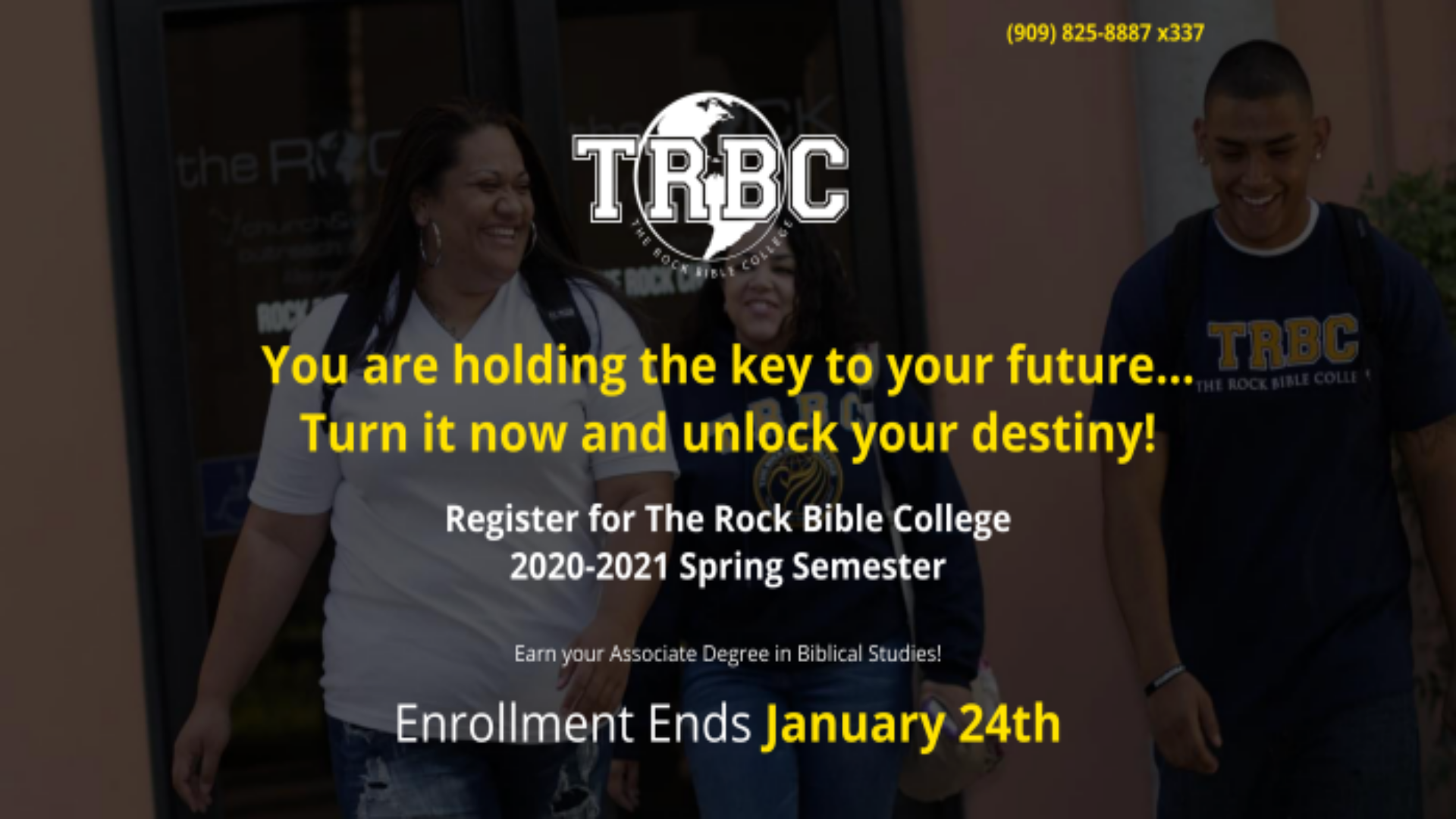 Bible College Registration