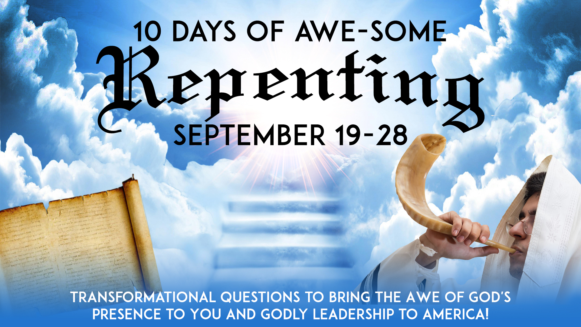 10 Days of Awe-Some Repenting
