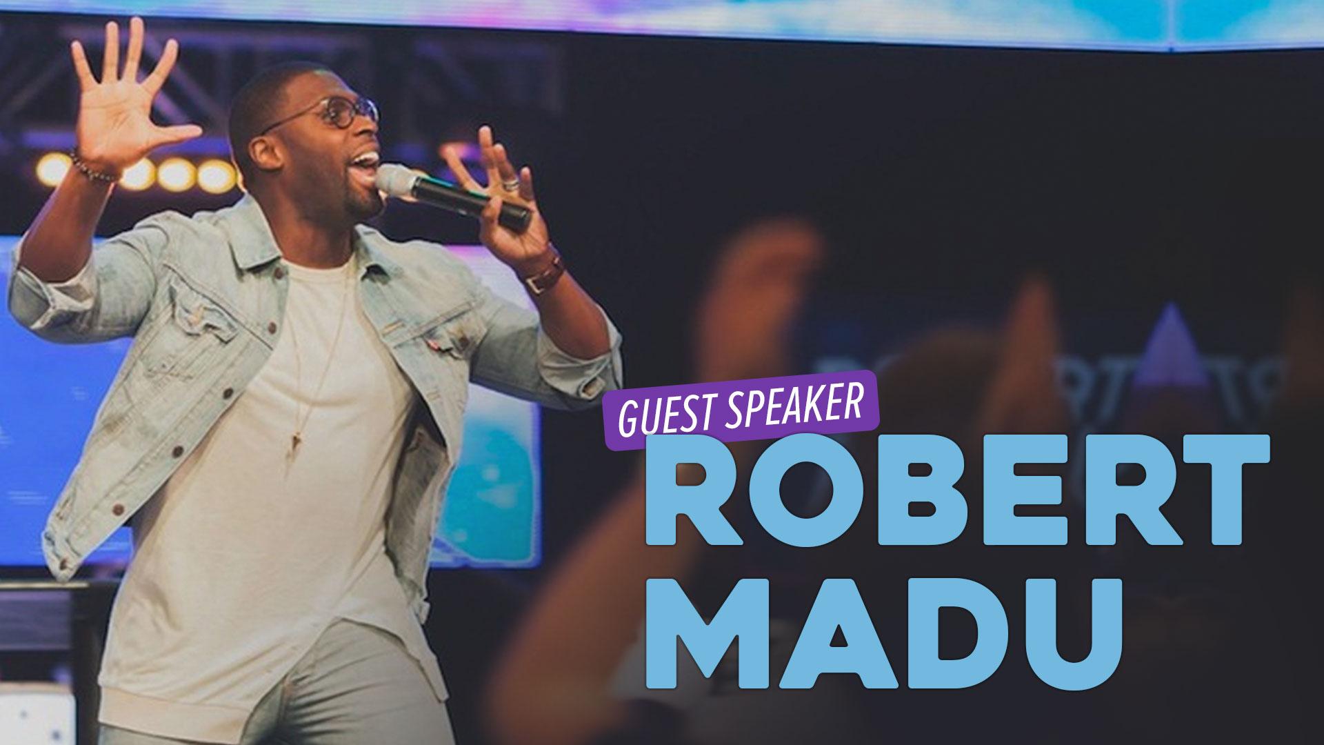Guest Speaker Robert Madu