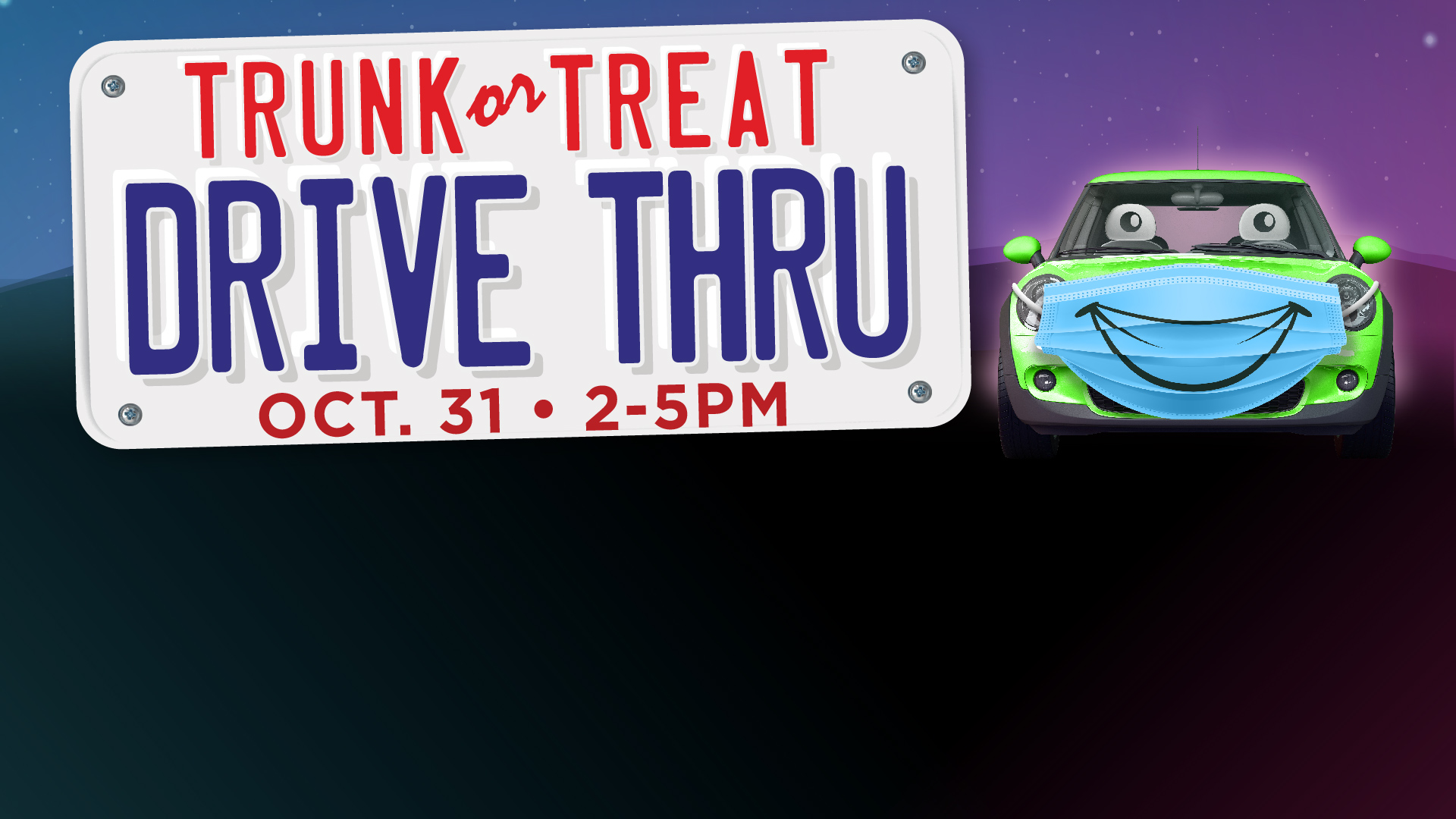 Trunk or Treat Drive Thru