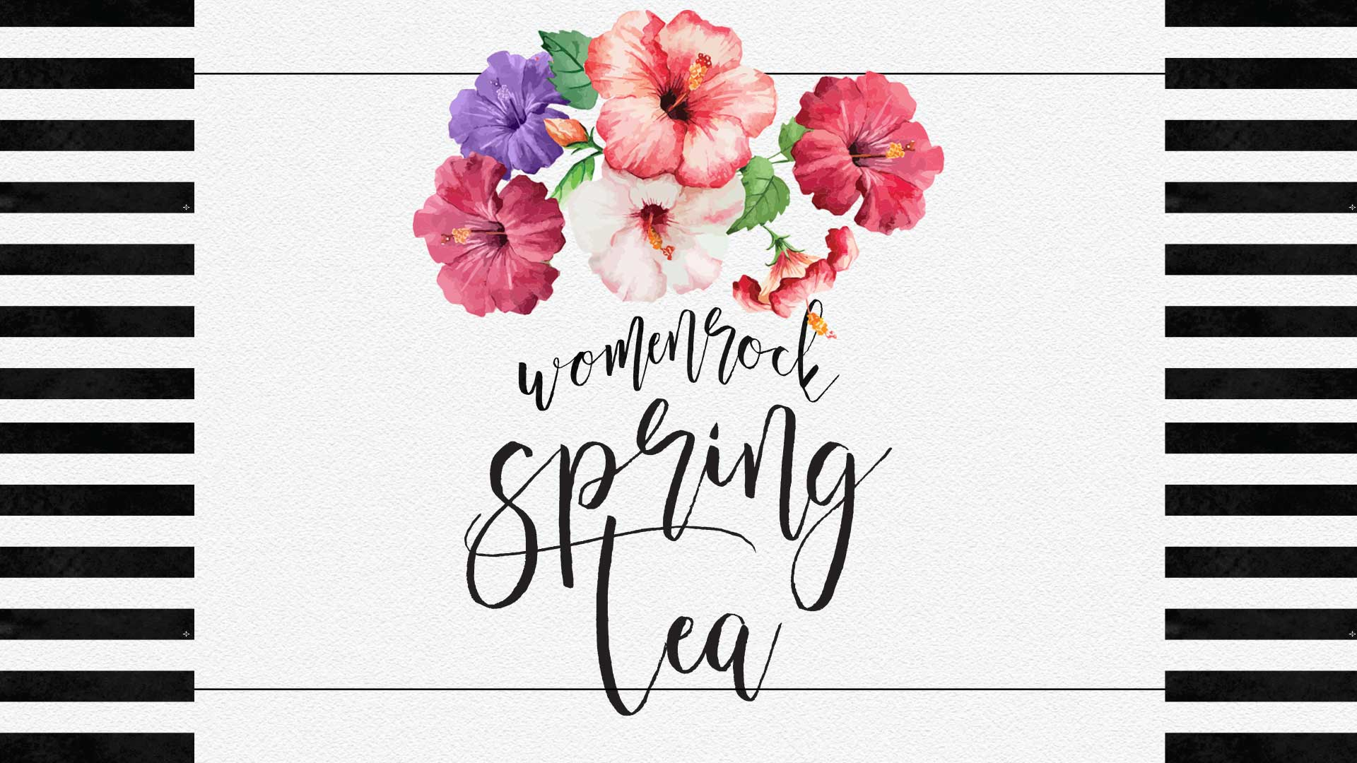 Women Rock Spring Tea