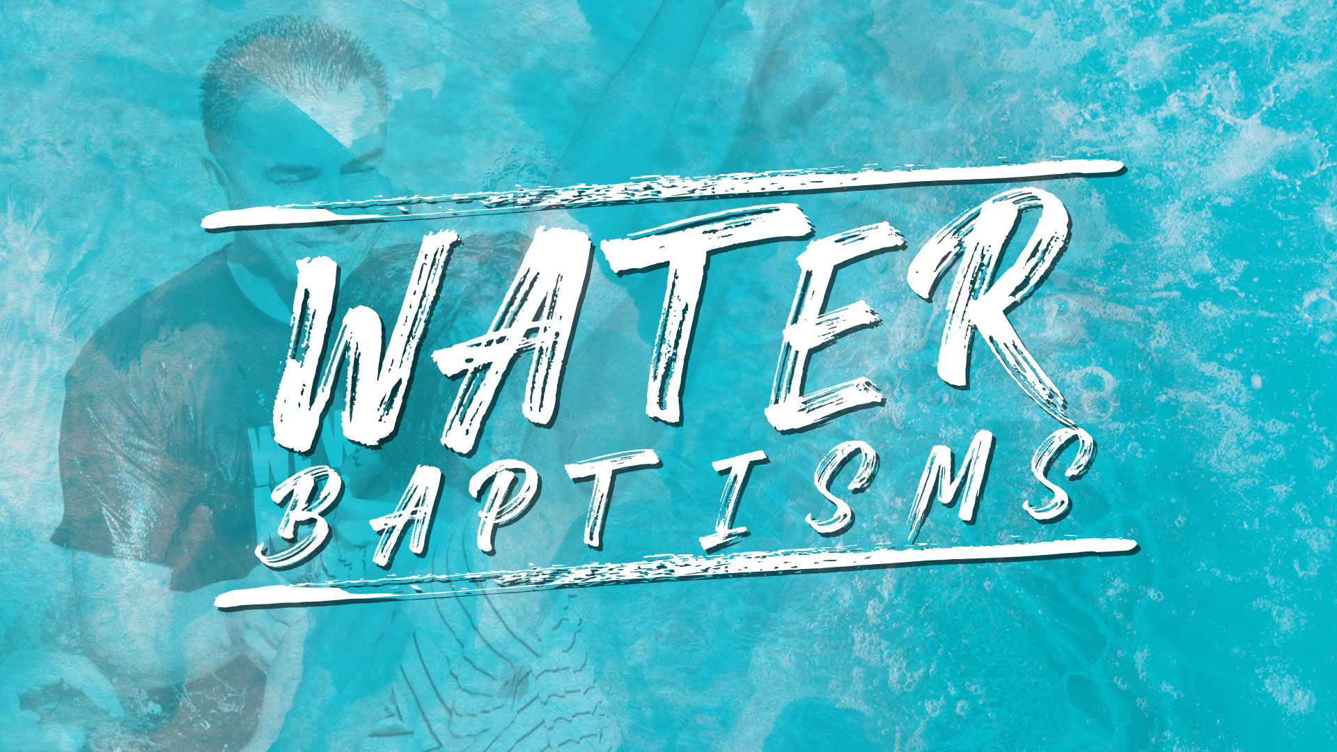 January 2020 Water Baptism