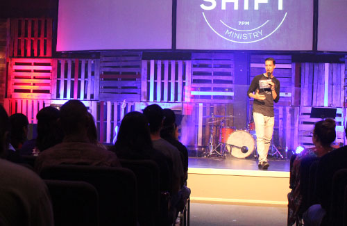 Shift Young Adults Ministry