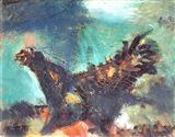 The Rooster - Ramkinkar  Baij - Auction 2000 (November)