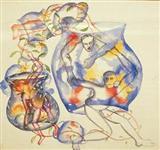 Ceramics-II - Bhupen  Khakhar - Auction 2000 (November)