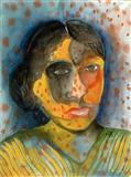 Woman - Bhupen  Khakhar - Auction 2001 (December)