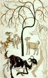 Untitled - K Laxma  Goud - Auction 2001 (December)