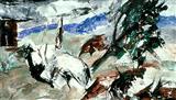 Untitled - Ram  Kumar - Auction 2001 (December)