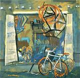 Cycle Repair - S H Raza - Auction 2001 (December)