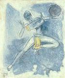 Ecstasy of Rhythm VII ( Folk Drummer) - Shiavax  Chavda - Auction 2001 (December)