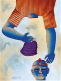 Untitled - Dharamanarayan  Dasgupta - Auction 2002 (December)