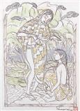Untitled - A  Ramachandran - Auction 2002 (December)