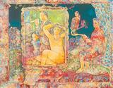 Mirror Never Lies - Sakti  Burman - Auction 2002 (December)