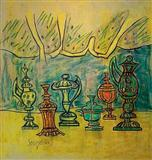 Still Life - F N Souza - Auction 2002 (December)