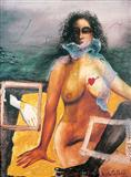 Stories of the Sea - Anjolie Ela Menon - Auction 2002 (May)
