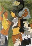 Untitled - M F Husain - Auction 2002 (May)