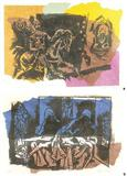 Christianity - M F Husain - Auction 2002 (May)