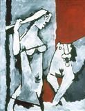 Untitled - M F Husain - Auction 2003 (December)