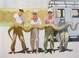 Crucifixion  - Shibu  Natesan - Auction 2003 (December)