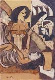 Untitled - K G Subramanyan - Auction 2003 (May)