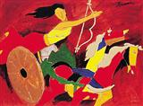 Untitled - M F Husain - Auction 2003 (May)