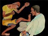 Untitled - Jogen  Chowdhury - Auction 2004 (December)