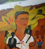 Homage to Freeda Kahlo - Lalitha  Lajmi - Auction 2004 (December)