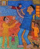 At Play - Madhvi  Parekh - Auction 2004 (May)