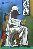 Untitled - M F Husain - Auction 2004 (May)