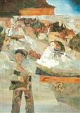 Untitled - Ram  Kumar - Auction 2004 (May)