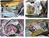 Untitled - Ram  Kumar - Auction 2004 (May)