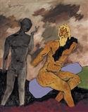 Untitled - M F Husain - Auction December 2005