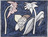 Flowers - Jogen  Chowdhury - Auction December 2005