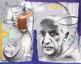 Remembering Picasso - Manu  Parekh - Auction December 2005