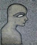 Face of a Young Man - Jogen  Chowdhury - Auction May 2005