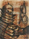 Tortilla Chip Samurai - Anju  Dodiya - Auction May 2005