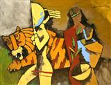 Untitled - M F Husain - Auction May 2005