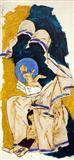Mother Teresa - M F Husain - Auction Dec 06