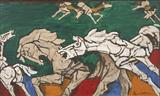 Untitled - M F Husain - Auction Dec 06