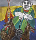 Portrait of a Mafia Don - Paritosh  Sen - Auction Dec 06