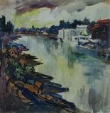 Untitled - S H Raza - Auction Dec 06
