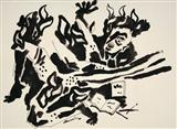 Untitled - M F Husain - Auction May 2006
