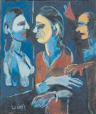 Figures - K G Subramanyan - Auction May 2006