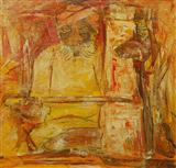 Remembering a Langa in Jodhpur  - Krishen  Khanna - Auction May 2006