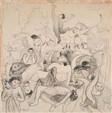 Untitled - Manjit  Bawa - Auction May 2006