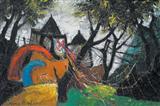 Untitled - Manu  Parekh - Auction May 2006