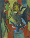 Untitled - K G Subramanyan - Auction May 2006