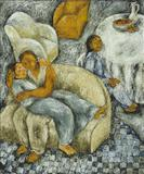 Woman with Sofas - Anjum  Singh - Spring Auction 2006
